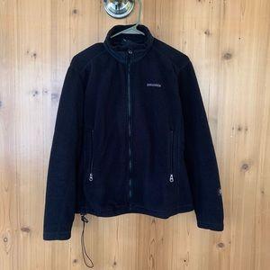 vintage womens black patagonia fleece jacket ⚡️ m